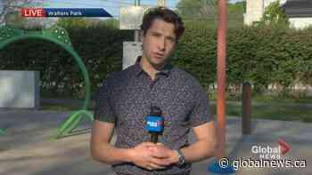 Dorval opens splash pads to help families beat the heat | Watch News Videos Online - Globalnews.ca