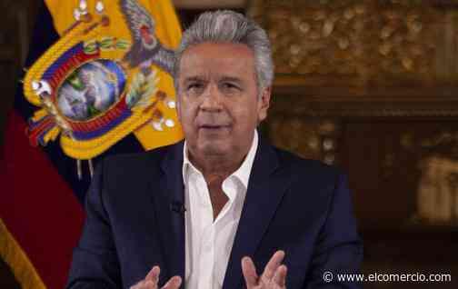 Presidente Moreno anuncia que retomará actividades oficiales; viajará a Guayaquil la próxima semana