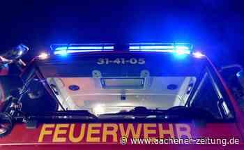 Bei einem Brand in Roetgen brennt ein Wintergarten komplett ab - Aachener Zeitung