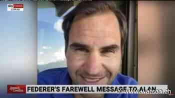 Roger Federer gratuliert dem mehrfach verurteilten Alan Jones per Video - watson