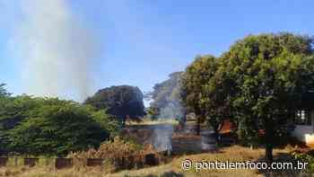 CBMMG controla incêndio em Ituiutaba e PMMG é acionada por indícios de ação criminosa - Pontal Emfoco