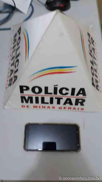 PMs abordam suspeitos no Nova Ituiutaba e encontram celular furtado - Pontal Emfoco