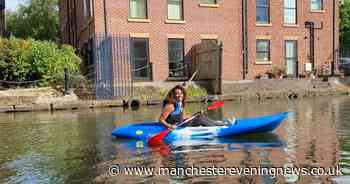 Could kayaking become the new commute? This Manchester woman thinks so - Manchester Evening News