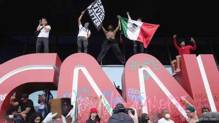 Fire & Fury: Crowd Attacks CNN Center in Atlanta
