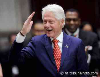 Bill Clinton joins hands with James Patterson for second novel - The Tribune