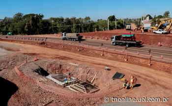 Dois viadutos em construção fazem parte da última etapa da obra - TNOnline