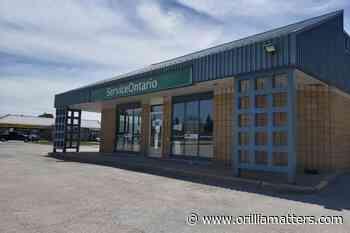 ServiceOntario reopens in Orillia - OrilliaMatters