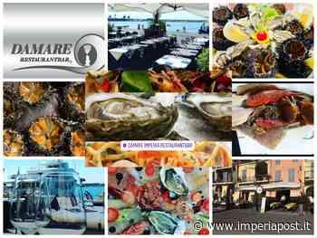 """Imperia: riapre il Restaurant Bar """"Damare"""" in calata Cuneo. A pranzo e cena crudité e specialità di pesce/ ecco come prenotare - IMPERIAPOST"""