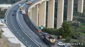 Lavori in autostrada, chiude la tratta Imperia Ovest–Imperia Est sull'A10 - Riviera24