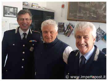 """Imperia: Polizia Municipale, dopo 39 anni di servizio in pensione il vicecomandante Angelo Arrigo. """"Porterò con me il ricordo di tutti i colleghi"""" - IMPERIAPOST"""