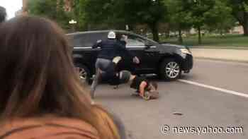 Woman drives vehicle into protesters at George Floyd rally in Denver