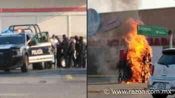 Intento de saqueo desata balacera en Cardenas, Tabasco (VIDEOS) - La Razon
