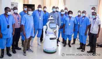 """""""Strijd tegen corona neemt nieuwe wending"""": robot nieuwste 'wapen' in strijd tegen epidemieën"""