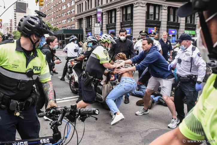 George Floyd protests grow across the U.S.