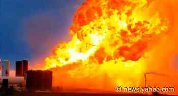 SpaceX Starship prototype explodes in engine test