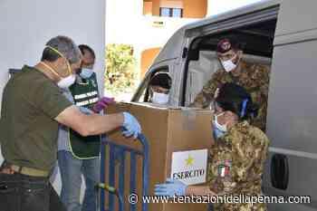 """Teulada. Solidarietà del 3° reggimento bersaglieri della Brigata """"Sassari"""". Una tonnellata di viveri per superare le difficoltà dell'emergenza Coronavirus - Tentazioni della Penna"""