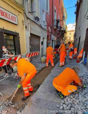 Sassari. Da lunedì lavori in via Satta con chiusura la traffico - SassariNotizie.com