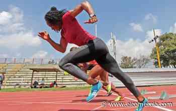 La deportista Ángela Tenorio ya se entrenó al aire libre, tras el aislamiento