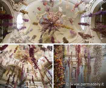 Il Florilegium di Rebecca Louise Law riaccende la stagione culturale di Parma. Il progetto di Chiesi e Davines - - ParmaDaily.it