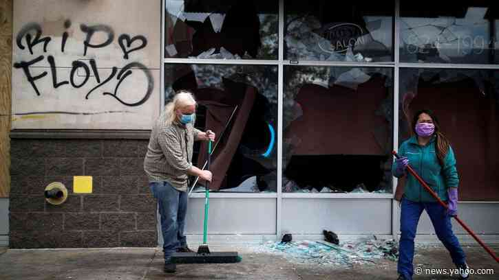Rioters Destroy Bar That Black Minneapolis Firefighter Bought with His Life Savings