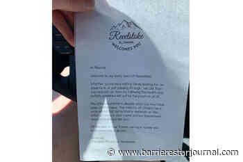Revelstoke woman finds welcoming letter on her Alberta-registered truck - Barriere Star Journal