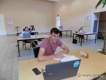 Studenten zoeken rust op in Blokpunt in cultureel centrum Reynaert - Gazet van Antwerpen