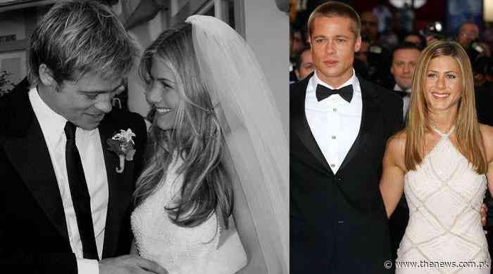 Jennifer Aniston and Brad Pitt had a lavish wedding ceremony: report - The News International