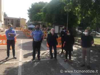 A Marcallo con Casone riparte il mercato. Boccata d'ossigeno per gli ambulanti. Presente anche l'On.le Massimo Garavaglia (VIDEO) | Ticino Notizie - Ticino Notizie