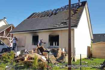 Notre-Dame-de-Gravenchon. Un couple et leurs enfants relogés après l'incendie de leur pavillon - Le Courrier Cauchois