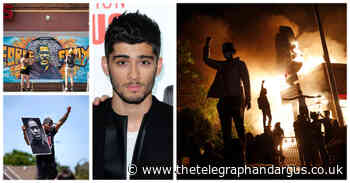 Zayn Malik tweets support to family of George Floyd - Bradford Telegraph and Argus