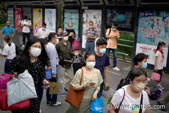 China reports four new coronavirus cases for May 29 - Reuters