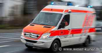 Radfahrer leicht verletzt - WESER-KURIER