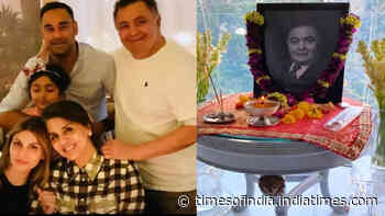 Rishi Kapoor's son-in-law Bharat Sahni posts a heartfelt photo of the late actor a month after his demise