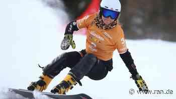 Snowboard - Snowboarder sammeln Müll auf Trainingshängen - RAN