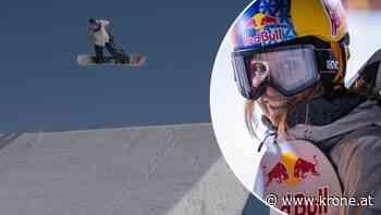 Snowboard-Queen Gasser und ihre perfekte Schanze - Krone.at