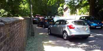 Over 70 fines were issued to drivers parking close to Dunham Massey yesterday - Altrincham Today
