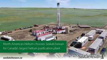 Helium processing facility to be built near Maple Creek - CHAT News Today