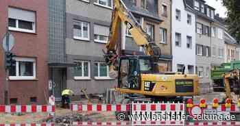 Bauarbeiten in Baesweiler: Die untere Kirchstraße wird neu hergerichtet - Aachener Zeitung