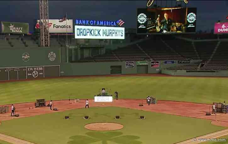 Watch Dropkick Murphys play empty baseball stadium with help from Bruce Springsteen