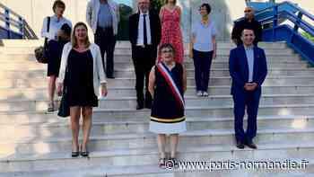 Municipales 2020. À Lillebonne, la nouvelle maire Christine Déchamps est installée - Paris-Normandie
