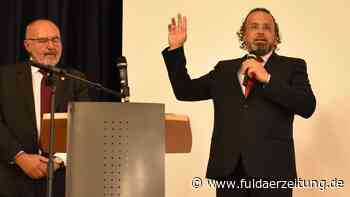 Eichenzell: Johannes Rothmund hält Antrittsrede als Bürgermeister | Fulda - Fuldaer Zeitung
