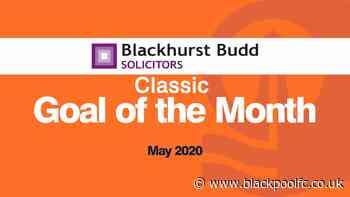 Blackhurst Budd Goal of the Month - May Classics