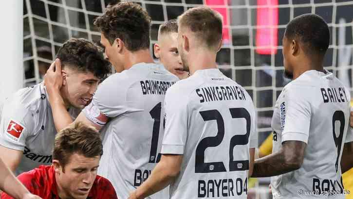 Fußball-Bundesliga: Havertz trifft schon wieder - Leverkusen besiegt defensivstarke Freiburger - DER SPIEGEL