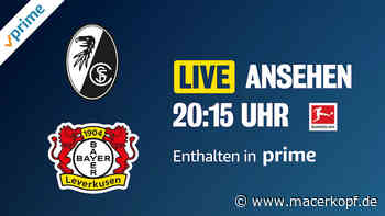 Kostenlos für Prime-Kunden: SC Freiburg gegen Bayer 04 Leverkusen im Live-Stream › Macerkopf - Macerkopf - Apple News aus Cupertino