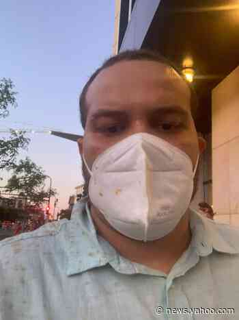 What one USA TODAY reporter saw during George Floyd protests — until he was temporarily blinded by pepper spray