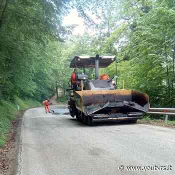 Lavori di asfaltatura sulla Castelraimondo – Camerino - Youtvrs