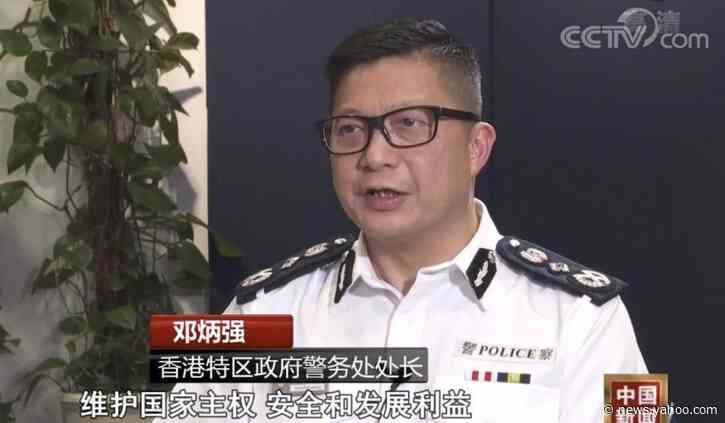 China's public security ministry vows to 'fully guide' Hong Kong's embattled police force in safeguarding stability and restoring order
