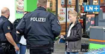 Raubüberfall auf HEM-Tankstelle - Überwachungskamera hat den Tankstellenraub von Geesthacht aufgezeichnet - Lübecker Nachrichten