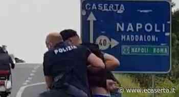 Tenta di rubare un'auto a CASERTA, bloccato sulla Variante a MADDALONI dopo alcuni spari. VIDEO E FOTO - Alessandro Ceci