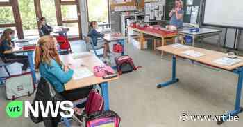 """Directeur basisschool 3K Kinrooi: """"Contactbubbels behouden tijdens middagspeeltijd is een groot probleem"""" - VRT NWS"""